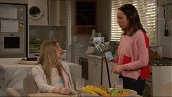 Amber Turner, Imogen Willis in Neighbours Episode 7218