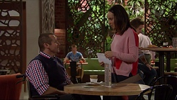 Toadie Rebecchi, Imogen Willis in Neighbours Episode 7218