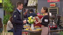 Mark Brennan, Paige Smith in Neighbours Episode 7218