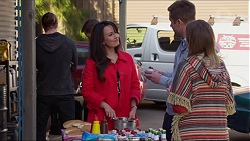 Vanessa Villante, Mark Brennan, Sonya Rebecchi in Neighbours Episode 7218