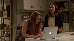 Piper Willis, Imogen Willis in Neighbours Episode 7219