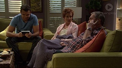 Nate Kinski, Susan Kennedy, Karl Kennedy in Neighbours Episode 7219