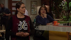 Paige Novak, Naomi Canning in Neighbours Episode 7219