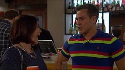 Naomi Canning, Aaron Brennan in Neighbours Episode 7219