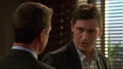 Paul Robinson, Conrad Leveson in Neighbours Episode 7219