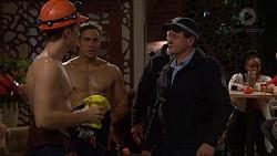 Josh Willis, Aaron Brennan, Const. Ian McKay in Neighbours Episode 7219