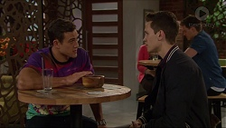 Aaron Brennan, Josh Willis in Neighbours Episode 7220