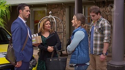 Liam Barnett, Terese Willis, Amy Williams, Kyle Canning in Neighbours Episode 7220