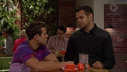 Aaron Brennan, Nate Kinski in Neighbours Episode 7220