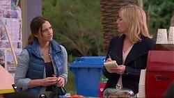 Amy Williams, Lauren Turner in Neighbours Episode 7221