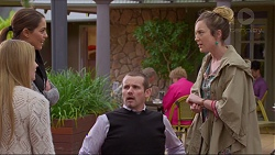 Amber Turner, Paige Smith, Toadie Rebecchi, Sonya Rebecchi in Neighbours Episode 7222