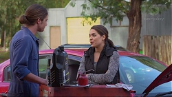 Tyler Brennan, Paige Smith in Neighbours Episode 7222