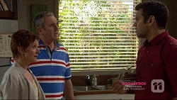 Susan Kennedy, Karl Kennedy, Nate Kinski in Neighbours Episode 7223