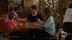 Jimmy Williams, Liam Barnett, Amy Williams in Neighbours Episode 7223