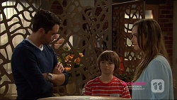Liam Barnett, Jimmy Williams, Amy Williams in Neighbours Episode 7223