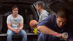 Kyle Canning, Mark Brennan, Tyler Brennan in Neighbours Episode 7223