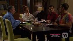 Karl Kennedy, Susan Kennedy, Nate Kinski, Aaron Brennan in Neighbours Episode 7223