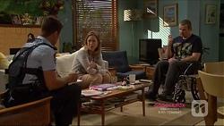 Mark Brennan, Sonya Mitchell, Toadie Rebecchi in Neighbours Episode 7224