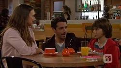Amy Williams, Liam Barnett, Jimmy Williams in Neighbours Episode 7224
