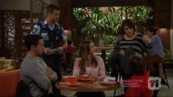 Liam Barnett, Mark Brennan, Amy Williams, Naomi Canning, Jimmy Williams in Neighbours Episode 7224