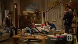 Brad Willis, Piper Willis, Imogen Willis, Josh Willis in Neighbours Episode 7224