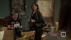 Toadie Rebecchi, Naomi Canning in Neighbours Episode 7224
