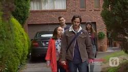 Josh Willis, Imogen Willis, Brad Willis, Piper Willis in Neighbours Episode 7224