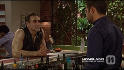 Aaron Brennan, Nate Kinski in Neighbours Episode 7226