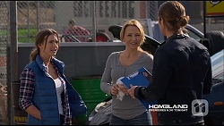 Amy Williams, Steph Scully, Tyler Brennan in Neighbours Episode 7226