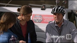 Amy Williams, Tyler Brennan, Karl Kennedy in Neighbours Episode 7226