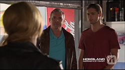 Steph Scully, Karl Kennedy, Tyler Brennan in Neighbours Episode 7226