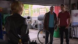Steph Scully, Karl Kennedy, Tyler Brennan in Neighbours Episode 7227