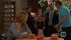 Steph Scully, Liam Barnett, Amy Williams, Paul Robinson, Karl Kennedy in Neighbours Episode 7227