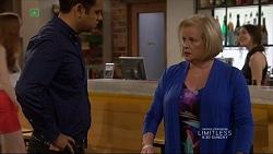 Nate Kinski, Sheila Canning in Neighbours Episode 7227
