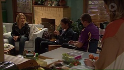 Steph Scully, Tyler Brennan, Toadie Rebecchi, Sonya Mitchell in Neighbours Episode 7228