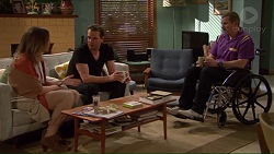 Sonya Mitchell, Lucas Fitzgerald, Toadie Rebecchi in Neighbours Episode 7228