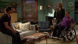 Lucas Fitzgerald, Steph Scully, Toadie Rebecchi in Neighbours Episode 7228