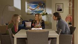 Piper Willis, Terese Willis, Brad Willis in Neighbours Episode 7229