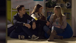 Josh Willis, Paige Smith, Amber Turner in Neighbours Episode 7229