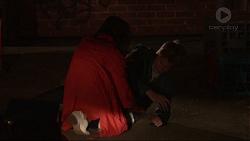 Imogen Willis, Daniel Robinson in Neighbours Episode 7231