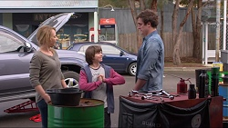 Steph Scully, Jimmy Williams, Kyle Canning in Neighbours Episode 7231