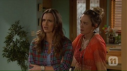 Amy Williams, Sonya Mitchell in Neighbours Episode 7232