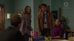 Paul Robinson, Amy Williams, Kyle Canning, Toadie Rebecchi in Neighbours Episode 7233