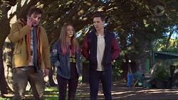 Kyle Canning, Piper Willis, Josh Willis in Neighbours Episode 7233