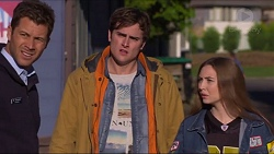 Mark Brennan, Kyle Canning, Piper Willis in Neighbours Episode 7233