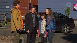 Kyle Canning, Paul Robinson, Jimmy Williams, Amy Williams in Neighbours Episode 7233