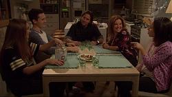 Piper Willis, Josh Willis, Brad Willis, Terese Willis, Imogen Willis in Neighbours Episode 7233