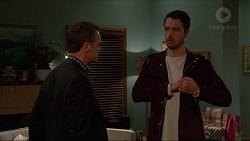 Paul Robinson, Liam Barnett in Neighbours Episode 7233