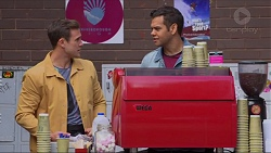 Aaron Brennan, Nate Kinski in Neighbours Episode 7234