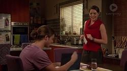 Tyler Brennan, Paige Novak in Neighbours Episode 7234
